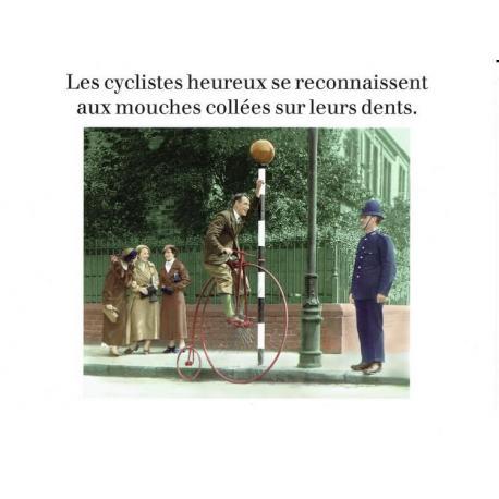 Carte Cath Tate - Les cyclistes heureux... - 10.5x15 cm