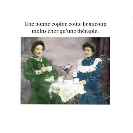 Carte Cath Tate - Une bonne copine... - 10.5x15 cm