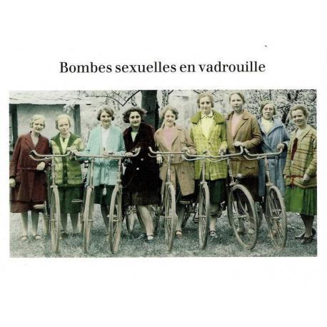 Carte Cath Tate - Bombes sexuelles en vadrouilles. - 10.5x15 cm