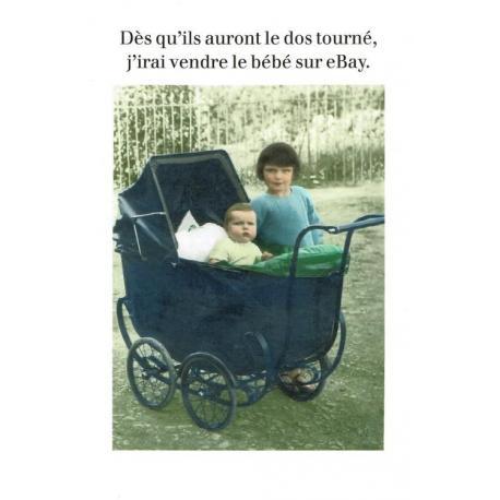 Carte Cath Tate - Vendre le bébé... - 10.5x15 cm