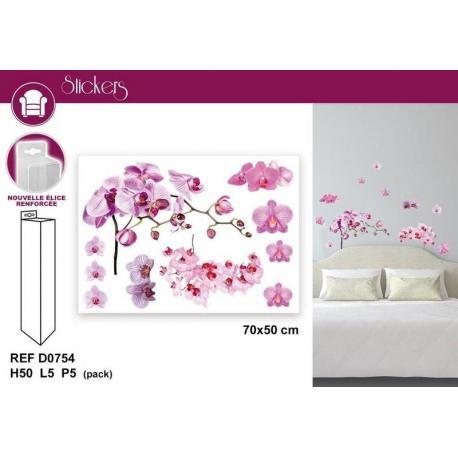 Stickers Fleurs - Format 50x70 cm