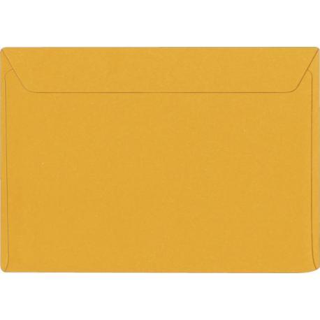 Enveloppe jaune nacré - 12.5 x 18.5 cm