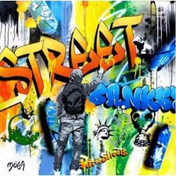 Affiche Street Art - Moga : Street - 70x70 cm
