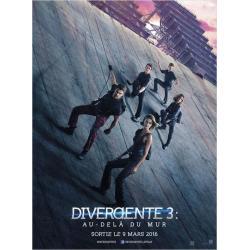"""Divergente 3 """"Au delà du mur"""" de Robert Schwentke 2016 - 40x53 cm - Affiche officielle du film"""