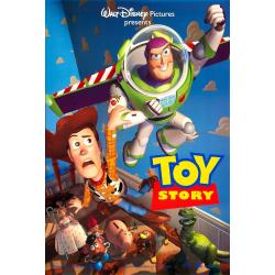 Affiche Toy story - John Lasseter 1995 - 40x53 cm