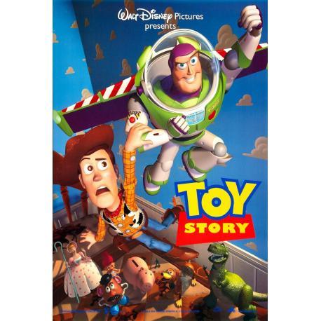 Toy story de John Lasseter 1995 - 40x53 cm - Affiche officielle du film