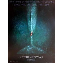 Au coeur de l'océan de Ron Howard 2015 - 40x53 cm - Affiche officielle du film