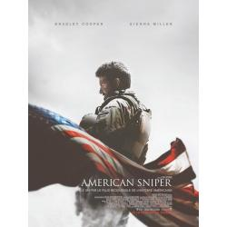 Affiche Américan Sniper - Clint Eastwood 2015 - 40x53 cm