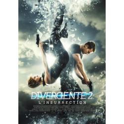 """Divergente 2 """"L'insurrection"""" de Robert Schwentke 2015 - 40x53 cm - Affiche officielle du film"""
