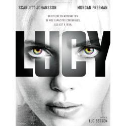 Affiche Lucy - Luc Besson 2014 - 40x53 cm