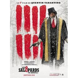 Affiche 8 salopards Samuel L.Jackson - Quentin Tarantino 2016 - 40x53 cm