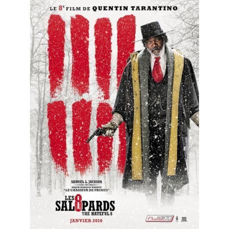 8 salopards Samuel L.Jackson de Quentin Tarantino 2016 - 40x53 cm - Affiche officielle du film