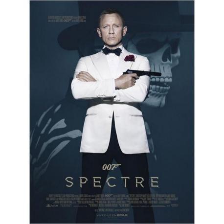 Spectre 007 avec Daniel Graig de Sam Mendes 2015 - 40x53 cm - Affiche officielle du film