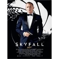 Affiche Skyfall 007 avec Daniel Craig - Sam Men-s 2012 - 40x53 cm