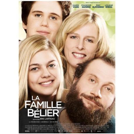La famille Bélier avec Louane de Eric Lartigau 2014 - 40x53 cm pliée - Affiche officielle du film
