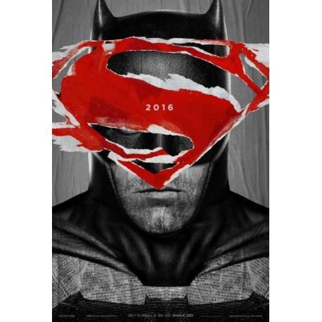 Batman V Spiderman (Batman) de Zack Snyder 2016 - 40x53 cm - Affiche officielle du film