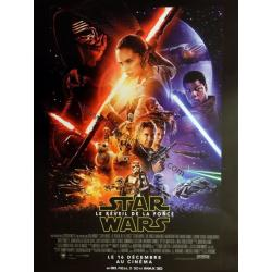 "Star Wars ""Le retour de la force"" de J.J. Abrams 2015 - 40x53 cm - Affiche officielle du film"