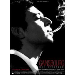 Affiche Gainsbourg - Vie héroïque - Joann Sfar 2010 - 40x53 cm Pliée