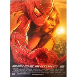 Spiderman 2 de Sam Raimi 2004 - 40x53 cm Pliée - Affiche officielle du film