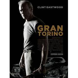 Affiche Gran torino - Clint Eastwood 2009 - 40x53 cm Pliée
