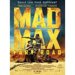 "Mad Max ""Fury Road"" de George Miller 2015 - 120 x160 cm Pliée - Affiche officielle du film"
