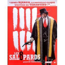 Affiche 8 salopards Samuel L.Jackson (officiel) - Quentin Tarantino 2016 - 120 x160 cm Pliée