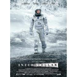 Affiche Interstellar - Christopher Nollan 2014 - 40x53 cm pliée