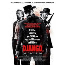 Affiche Django - Unchained - Quentin Tarantino 2013 - 40x53 cm