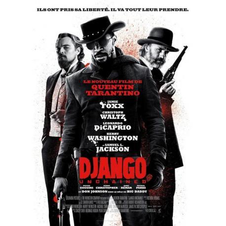 """Django """"Unchained"""" de Quentin Tarantino 2013 - 40x53 cm - Affiche officielle du film"""