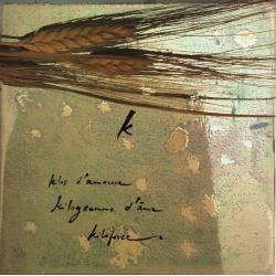 Carte Déborah Choc - Le K - L'abécédaire et ses secrets - 13x13 cm
