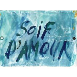 Carte Déborah Choc - Soif d'amour - Les couleurs de la Vie - 10.5x15 cm