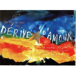 Carte Déborah Choc - Dérive d'amour - Les couleurs de la Vie - 10.5x15 cm