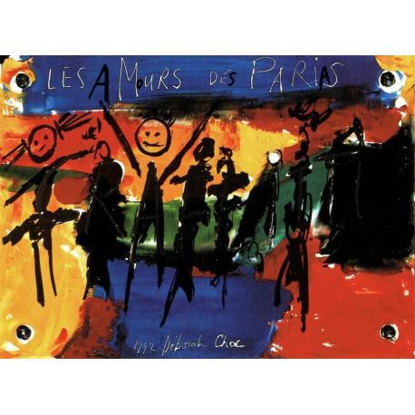 Carte Déborah Choc - Les amours de Parias - Les couleurs de la Vie - 10.5x15 cm