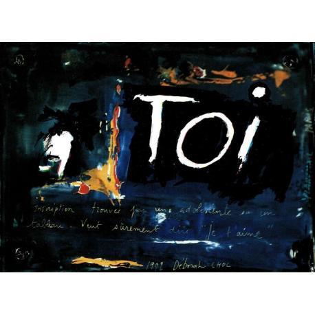 Carte Déborah Choc - Toi - Les couleurs de la Vie - 10.5x15 cm