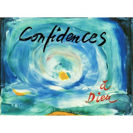 Carte Déborah Choc - Confidences - Les couleurs de la Vie - 10.5x15 cm