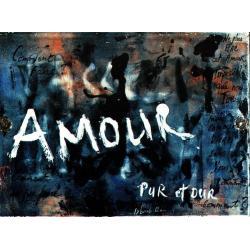 Carte Déborah Choc - Amour pur et dur - Les couleurs de la Vie - 10.5x15 cm