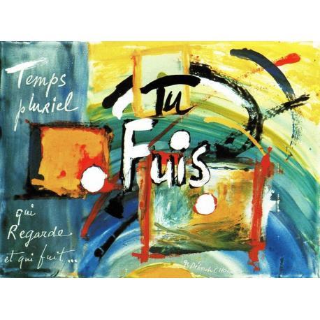 Carte Déborah Choc - Temps pluriel - Les couleurs de la Vie - 10.5x15 cm