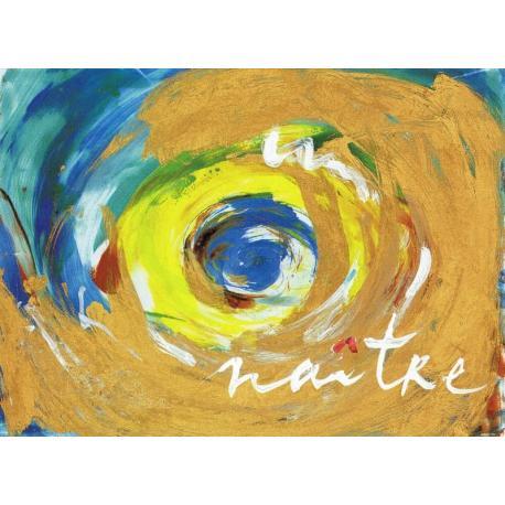 Carte Déborah Choc - Naître - Les couleurs de la Vie - 10.5x15 cm