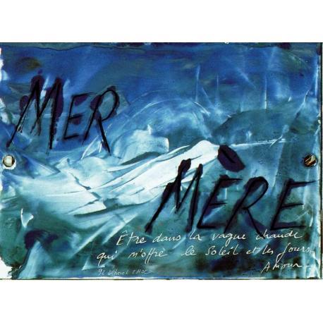 Carte Déborah Choc - Mer Mère - Les couleurs de la Vie - 10.5x15 cm