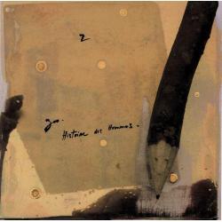 Carte Déborah Choc - Le Z - L'abécédaire et ses secrets - 13x13 cm