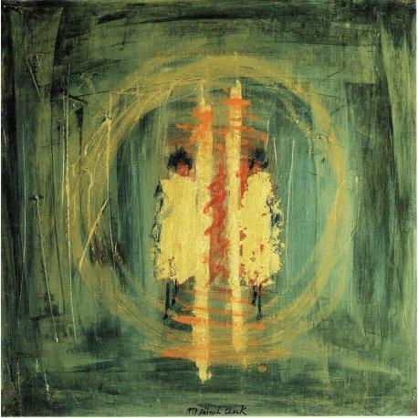 Carte Déborah Choc - Le miroir - 15x15 cm