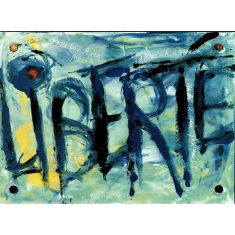 Carte Déborah Choc - Liberté - Les couleurs de la Vie - 10.5x15 cm