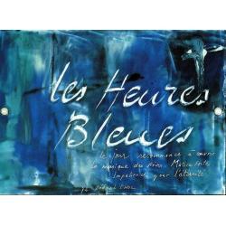 Carte Déborah Choc - les heures bleues - Les couleurs de la Vie - 10.5x15 cm