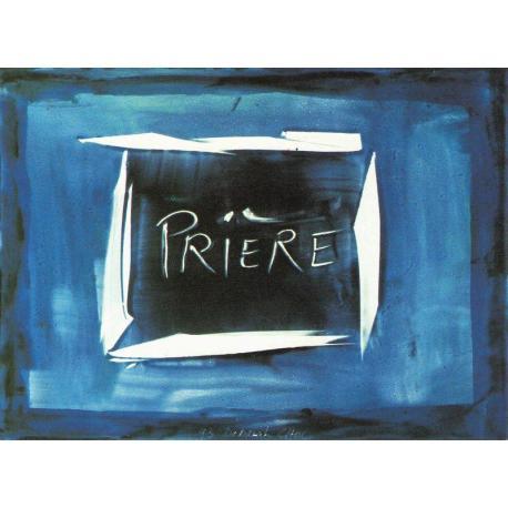 Carte Déborah Choc - Prière - Les couleurs de la Vie - 10.5x15 cm