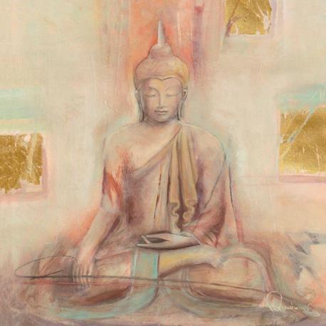 Carte Elvira Amrhein - Buddha I - 14x14 cm