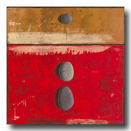 Carte Marylin Cavin - Pierres apparentes sans histoires - 14x14 cm