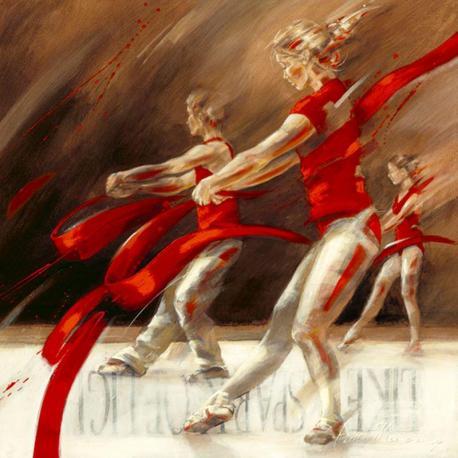 Carte Kitty Meijering - Dancing Ribbons - 14x14 cm