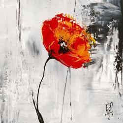 Carte Isabelle Zacher_Finet - Rêve Fleurie I - 14x14 cm