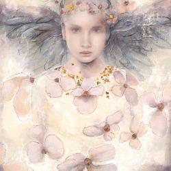 Carte Elvira Amrhein - Air de printemps I - 14x14 cm