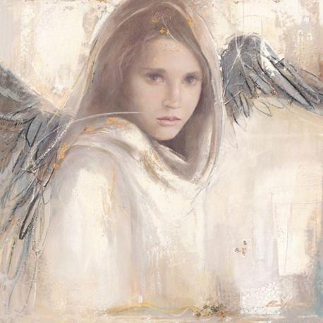 Carte Elvira Amrhein - L´ange rebelle - 14x14 cm